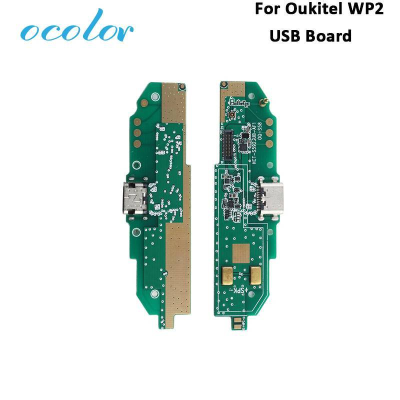 Repuesto placa USB cargador de enchufe para movil chino Oukitel WP2