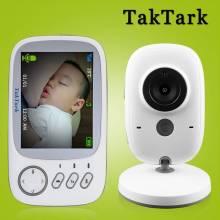 Camara de vigilancia de seguridad inalámbrica de pantalla 3,2 en color de alta resoluciony vision nocturna