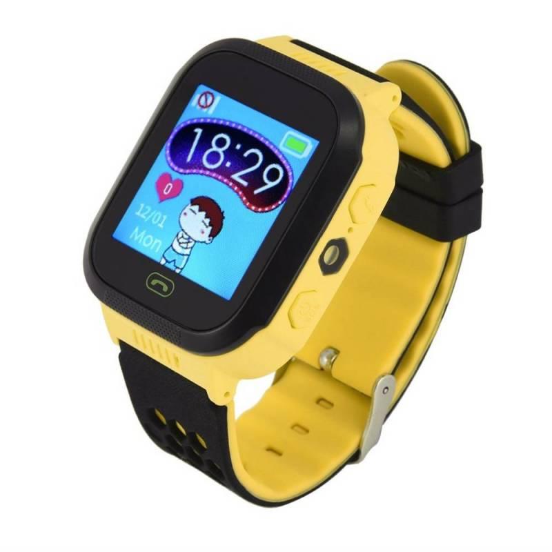 Reloj inteligente Y21 GPRS con cámara linterna bebé llamada SOS dispositivo de localización