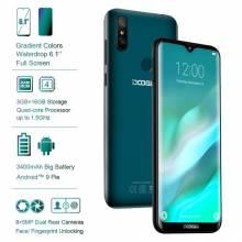 "Movil chino DOOGEE Y8 MTK6739 3 GB RAM 16 GB ROM Android 9,0 FDD LTE pantalla 6,1"" bateria 3400 mAh"