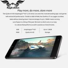 "Movil chino OnePlus 3 T A3003 versión UE 6GB RAM 64 GB ROM 4G pantalla 5,5 "" FHD Snapdragon 821 NFC Android"