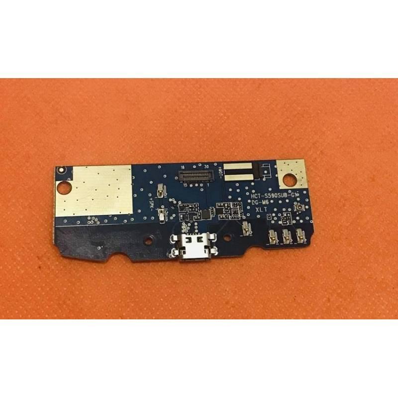 Repuesto placa USB cargador de enchufe para movil chino DOOGEE S55