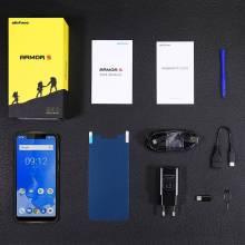 "Movil chino Ulefone Armor 5 IP68 NFC 5.85"" HD procesador MT6763 Android 8.1 4GB + 64GB Bateria 5000mAh"