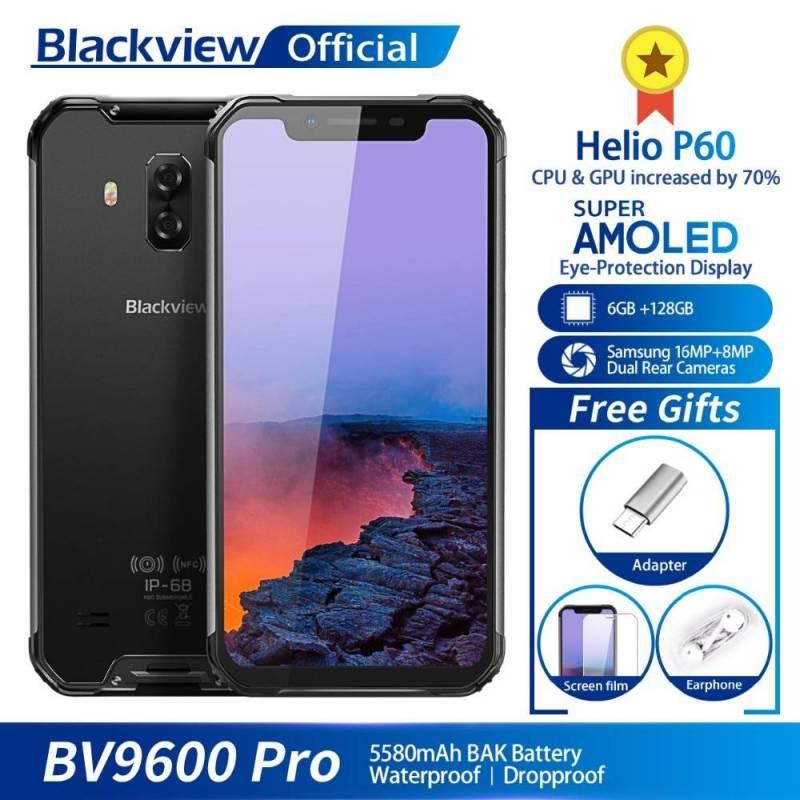 Movil chino Blackview BV9600 Pro IP68 a prueba de agua Helio P60 6GB + 128GB pantalla 6.21 AMOLED bateria 5580mAh