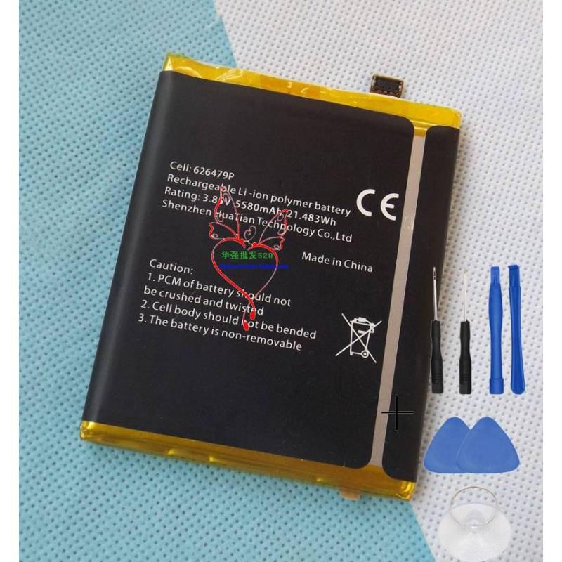 Bateria original de 5580 mAh para movil chino blackview bv9600 pro