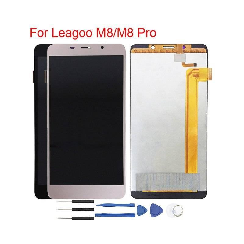 Pantalla LCD + pantalla táctil de reemplazo para movil chino Leagoo M8