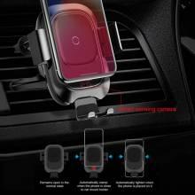 Soporte de coche Baseus para Iphone y Android con carga inalambrica sensor infrarrojos