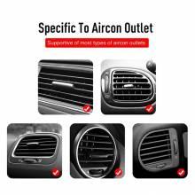 Soporte de coche para movil universal con colocacion en zona de ventilacion de aire