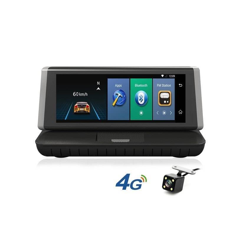 """Reproductor multimedia Junsun con pantalla de 8"""" con 4G camara DVR Android 5.1 GPS FHD 1080P grabador de video"""