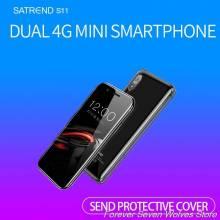 Movil chino Mini S11 Android 7,1 4G procesador MTK6739 WiFi Dual SIM pantalla 3,2 pulgadas GPS Bluetooth