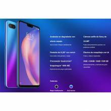"Movil chino Xiaomi Mi 8 Lite version global pantalla 6.26 "" 4GB de RAM + 64GB de ROM Dual SIM cámara frontal de 24 MP"