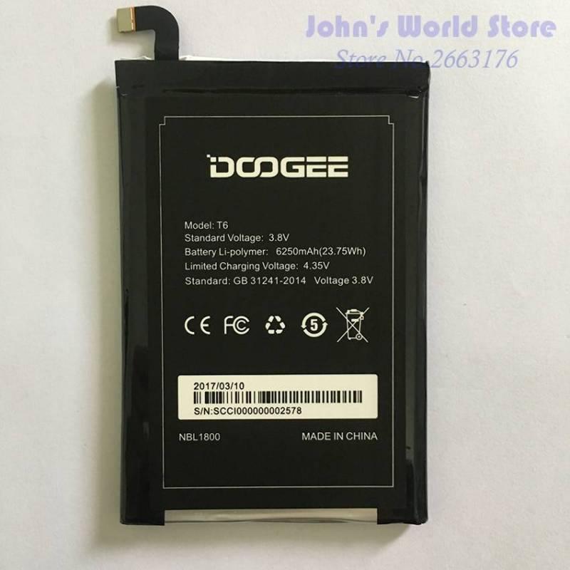 Bateria original de 6250 mAh para movil chino Homtom HT6