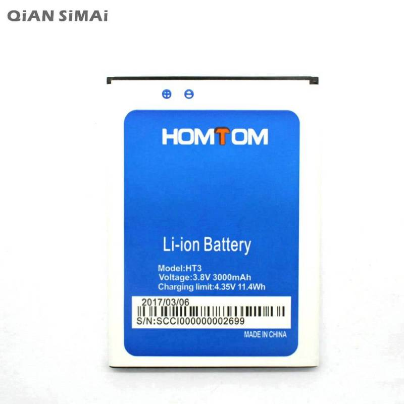 Bateria original de 3000 mAh para movil chino HOMTOM HT3 PRO