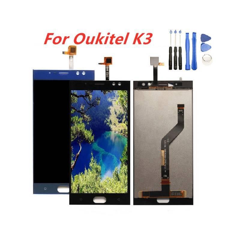 Pantalla LCD + pantalla táctil de reemplazo para movil chino Oukitel K3
