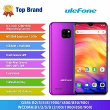 Movil chino Ulefone Note 7 bateria 3500 mAh 19:9 Quad Core de pantalla 6,1 pulgadas 16 GB ROM WCDMA android 8.1