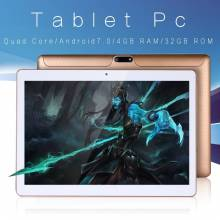 Tablet china de 10 pulgadas conexion 3G Android 7.0 Quad Core 4G RAM 32G ROM Android WiFi Bluetooth GPS IPS