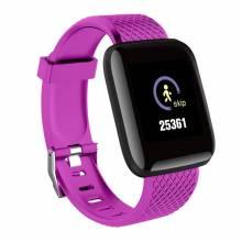 Reloj inteligente con presión arterial impermeable monitor de ritmo cardíaco fitness para Android e IOS