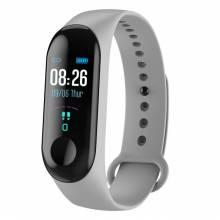 Pulsera inteligente china con monitor de ritmo cardíaco presión arterial fitness para android y IOS
