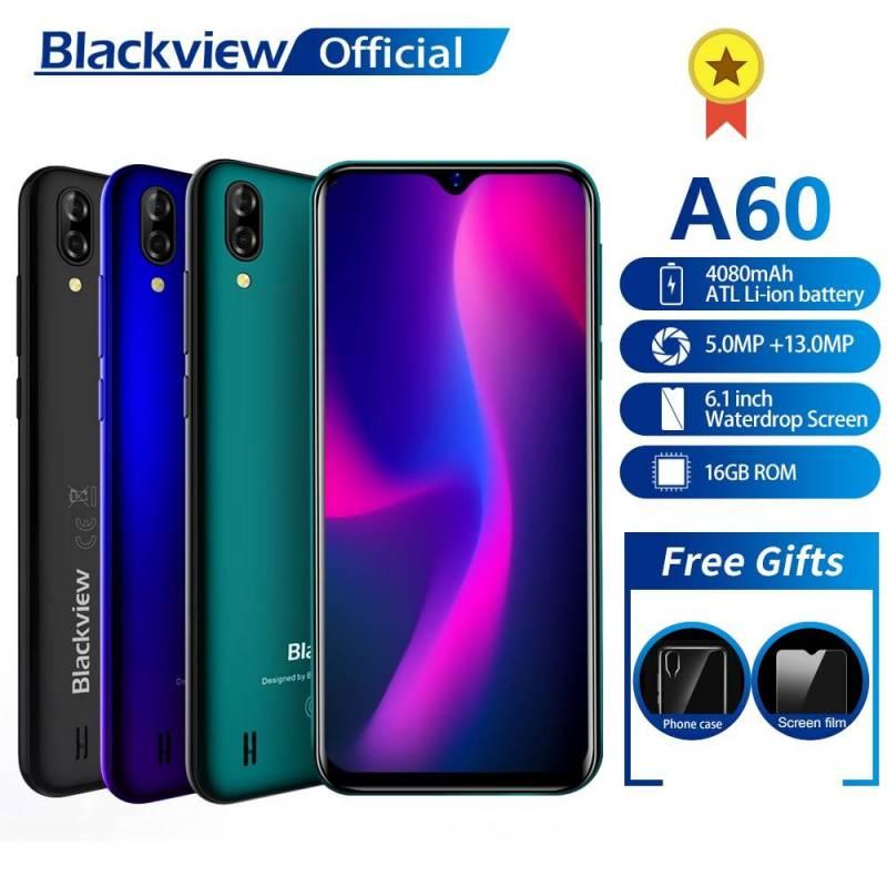 Movil chino Blackview A60 Quad Core Android 8.1 4080mAh 1GB + 16GB 6.1 pulgadas 3G