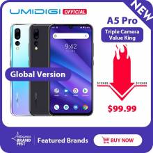 Movil chino UMIDIGI A5 PRO Android 9.0 Octa Core 6.3 ' 16MP Cámara triple bateria 4150mAh 4GB RAM 4G