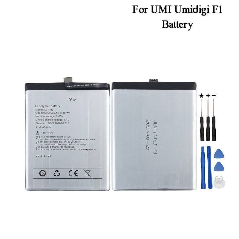Bateria original de 5150 mAh para movil chino UMI Umidigi F1