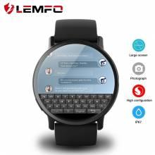 Reloj inteligente LEMFO LEM X 4G Android 7.1 con cámara de 8MP GPS 2.03 pulgadas batería 900Mah