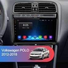 Reproductor multimedia Junsun 2 + 32G Android 8,1 4G 2 din GPS de navegación para Volkswagen VW POLO 2009-2018