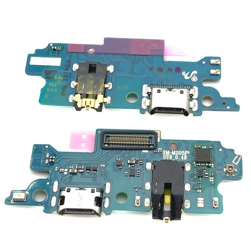 Repuesto placa USB cargador de enchufe para movil chino Samsung Galaxy M20