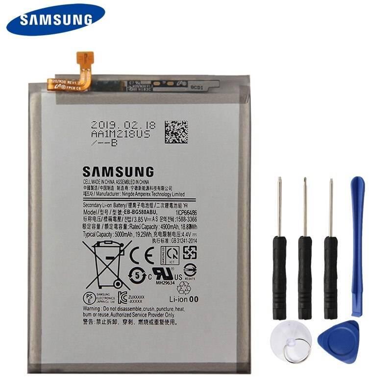 Bateria original de5000 mAh para movil chino Samsung Galaxy M20
