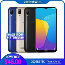 Movil chino DOOGEE Y8c Android 8,1 pantalla 6,1 pulgadas procesador MTK6580 1 GB de RAM 16 GB ROM 3400 mAh