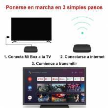 Tv Box Xiaomi Mi Box S con android 8.1 4K HDR Quad Core 2G 8G WIFI Netflix IPTV