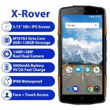 "Movil chino LEAGOO X-Rover IP68 impermeable pantalla 5,72"" 4G con 6 GB 128 GB MTK6763 13MP bateria 5000 mAh"
