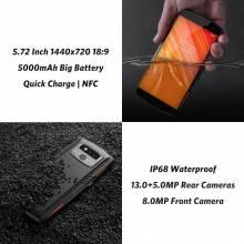"""Movil chino LEAGOO X-Rover IP68 impermeable pantalla 5,72"""" 4G con 6 GB 128 GB MTK6763 13MP bateria 5000 mAh"""