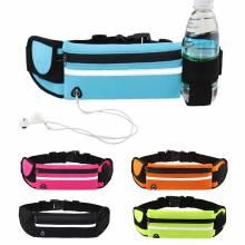Bolsa cinturon para correr con compartimento para botella de agua