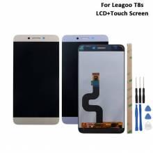 Pantalla LCD + pantalla táctil de reemplazo para movil chino Leagoo T8s