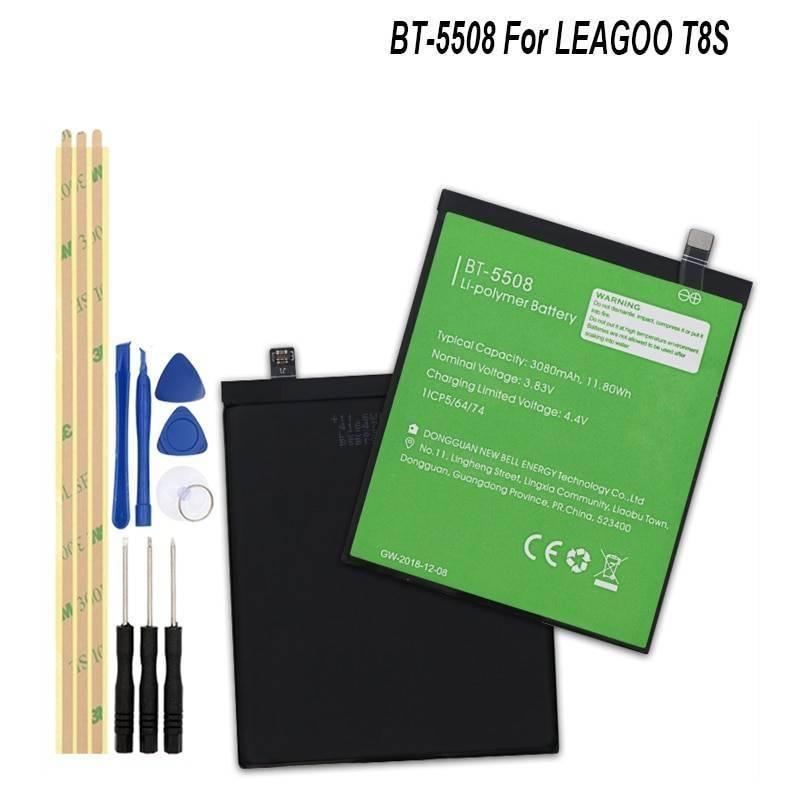 Bateria original de3080 mAh para movil chino LEAGOO T8S