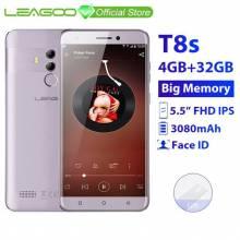 "Movil chino LEAGOO T8s 4 GB RAM 32 GB ROM Android 8,1 de pantalla 5,5"" 1920*1080 MTK6750T 13MP Cámara Dual 4G"