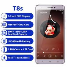 "Movil chino LEAGOO T8s 4 GB RAM 32 GB ROM Android 8,1 de pantalla 5,5"" 1920*1080 MTK6750T 13MP Cámara Dual 4G"