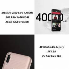 """Movil chino LEAGOO M11 2 GB 16 GB con Android 8,1 de 6,18 """"MTK6739 Quad Core bateria 4000 mAh 4G"""