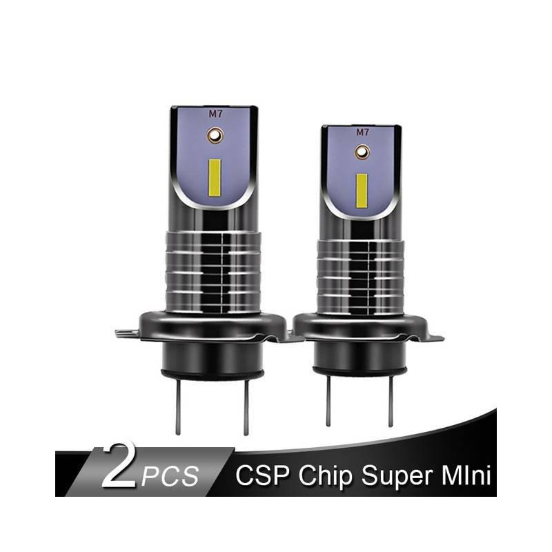 Bombillas Led H7 Canbus.2 Bombillas Led H7 De Faro Csp Chip Led 50 W H11 Mini Hb3 Hb4 Linea De Corte 12v 24v
