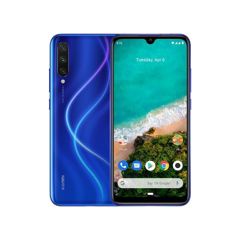 "Movil chino Xiaomi Mi A3 version global oficial Android ONE Snapdragon 665 pantalla 6.088"" AMOLED"
