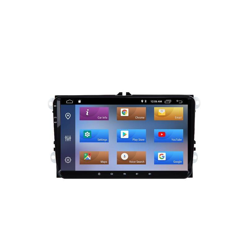 Reproductor multimedia para coche IPS Android 8,1 2G RAM para SEAT Altea Toledo Leon Altea XL alhambra para VW PASSAT