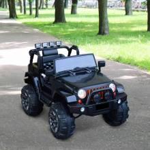 Bonito coche eléctrico estilo todoterreno con mando a distancia MP3 Batería 12V hasta 30 kg de carga