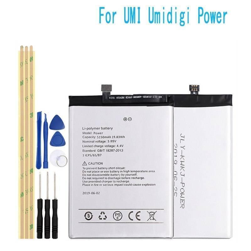 Bateria original de5150 mAh para movil chino UMI Umidigi POWER