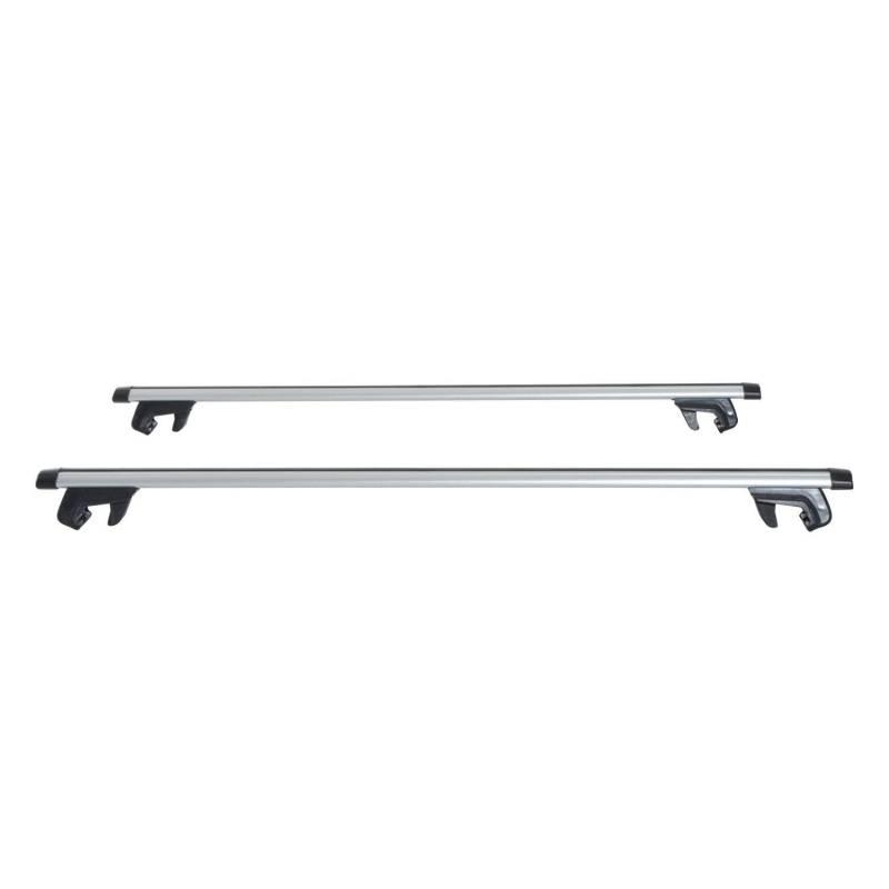 Barras de Coche Universal con llave tipo Baca Portaequipajes de Aluminio para Techo 120cm