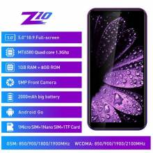 "Movil chino LEAGOO Z10 Android pantalla 5,0"" 18:9 1GB de RAM 8GB ROM MT6580 bateria 2000mAh"