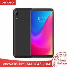 Movil chino Lenovo K5 Pro 6GB RAM 64 GB/128 GB con la ROM Global Snapdragon 636 Octa Core pantalla de 5,99 pulgadas 4G LTE