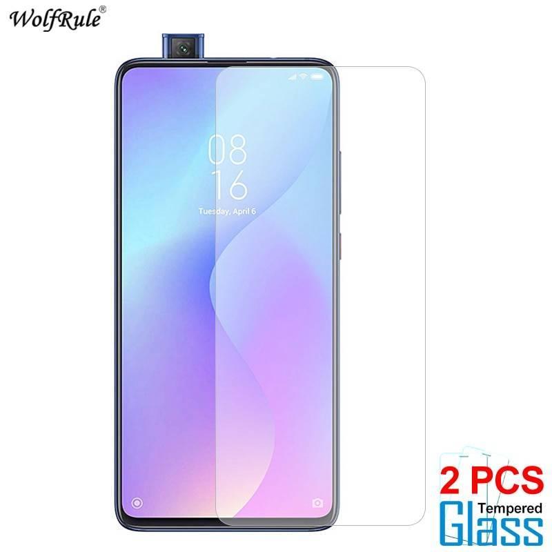 2 Unidades de protector de pantalla vidrio templado de alta calidad para movil chino Xiaomi mi 9T