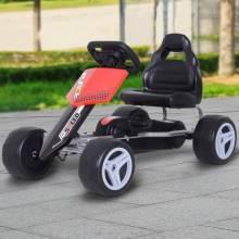 Fantastico coche a pedales con asiento regulable para niños 3-8 años