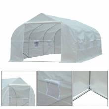 Fantastico Invernadero de plástico en color blanco de medidas 450x300x200cm